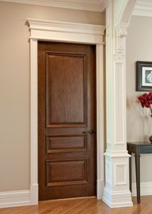 CUSTOM SOLID WOOD INTERIOR DOORS - by Doors for Builders, Inc.