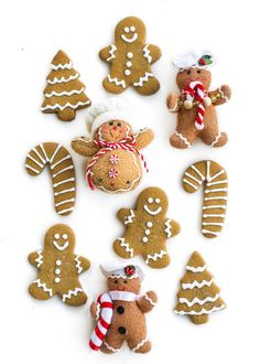 Is there anything better than classic Gingerbread Cookies that are gluten free, soft on the inside with crispy edges? Nope!