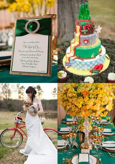 Wizard of Oz themed wedding...it's a bride's life