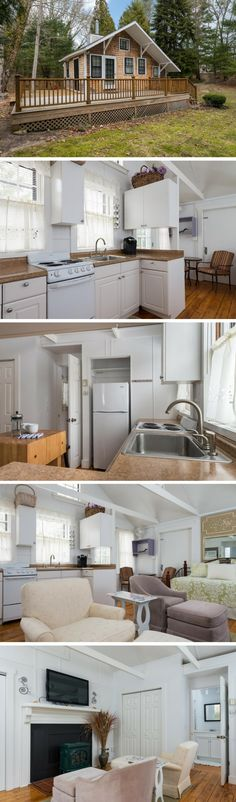 A 348 sq ft cottage on Cape Cod, in Barnstable, MA.