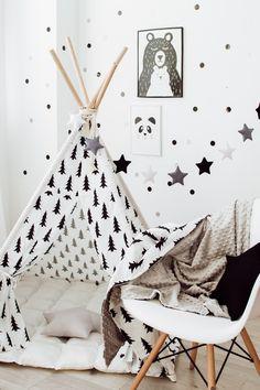Teepee Nursery, Teepee Bed, Kids Teepee Tent, Boys Room Decor, Kids Bedroom, Bedroom Decor, Bedroom Ideas, Toddler Teepee, Baby Tent