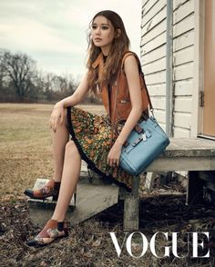 SNSD Sooyoung and Daniel Henney - Vogue Magazine April Issue '16