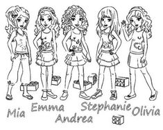 collection of solutions lego friends coloring pages with