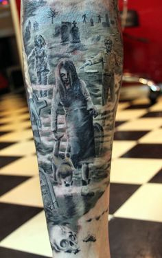 35 Horrible Zombie Tattoos | Cuded