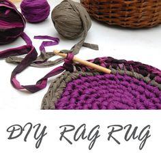Rag Rug Tutorial PDF  Instant Download  DIY Crocheted by OdPaAm, $5.90