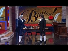 Love this!   Lin-Manuel Miranda & Stephen Colbert: Button performed on Late Show | EW.com