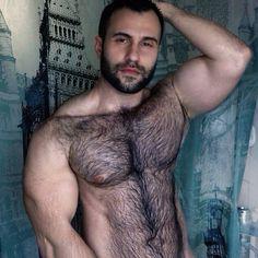 """ialexmoss: """"VISIT & FOLLOW http://ialexmoss.tumblr.com FOR HAIRY MACHURE MAN…"""