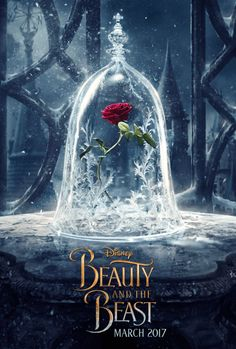 To get you even more excited about Emma Watson, Dan Stevens, and their musical journey into each other's arms, Disney has released the Beauty and the Beast's first official poster. And yes, it's a major throwback to the rose.