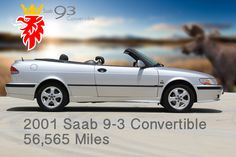 '01 Saab 9-3 Convertible Cover Page