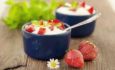 Tiramisù light con ricotta, yogurt e fruttosio
