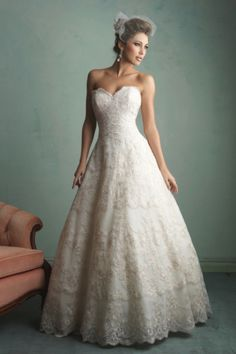 Lace Allure Bridals wedding dress: http://www.stylemepretty.com/2014/11/03/21-of-our-favorite-lace-dresses/