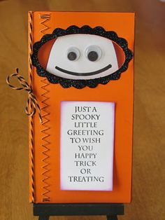 inspiring halloween card for childrens craft - Halloween Card Quotes