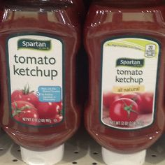 Spartan brand ketchup = 0 WW points plus value