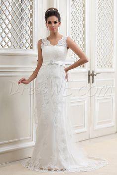 Awesome A-line Bateau Chapel Tulle Taline's Wedding Dress 8871853 - Vintage Wedding Dresses - Dresswe.Com