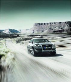 Crossing the desert #Audi #Q7 #quattro