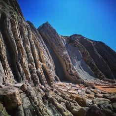 Increible playa en Liencres. #Cantabria #geomorfologia #geología