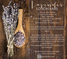Lavender Lotion Bars