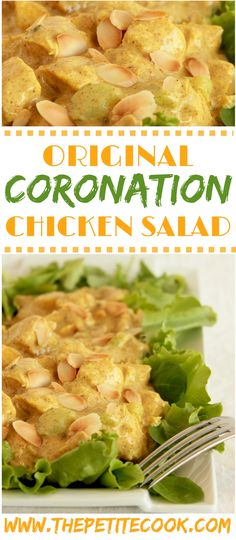 Can you believe it takes only 10 mins to make a royal dish? Coronation Chicken Salad is easy to make and awesomely gluten-free - The perfect recipe for a quick side or summer/spring meal! Recipe by The Petite Cook Easy Salad Recipes, Chicken Salad Recipes, Healthy Recipes, Coronation Chicken Recipe, Coronation Chicken Sandwich, Food Porn, Partys, Spring Recipes, Recipes