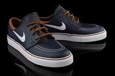 Nike SB Stefan Janoski, Obsidian Leather; pinned by #shirtinglife