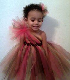 One Shoulder Tutu Dress NB5T by TashasTutuBoutique on Etsy - can't have enough tutus for little girls!
