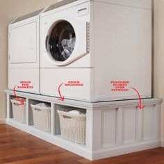 "Receive fantastic suggestions on ""laundry room storage diy budget"". They are actually readily available for you on our web site. room storage ideas How to Build a Laundry Room Pedestal Washer And Dryer Pedestal, Laundry Room Pedestal, Laundry Room Tables, Small Laundry Rooms, Laundry Room Organization, Laundry Storage, Stacked Washer Dryer, Laundry Closet Makeover, Laundry Drying"
