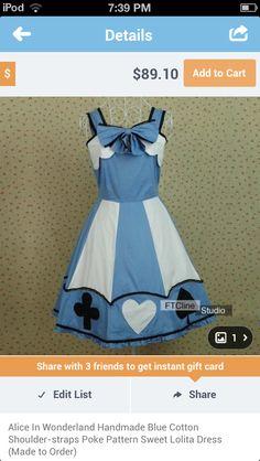 Alice dress!