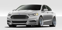 Ford Fusion Duraflex Racer Body Kit - 4 Piece - Includes Racer Front Lip Under Spoiler Air Dam Racer Rear Lip Under Spoiler Air Dam Racer Side Skirt Rocker Panels Ford Motor Company, Ford Fusion Accessories, Ford Fusion Custom, 2013 Ford Fusion, Fusion Sport, Scion Xb, Killer Body, American Motors, Air Ride