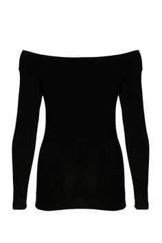 Off the shoulder long sleeved fitted top. This on trend off the shoulder top is a weekend wardrobe must have taking you through all seasons!  Off Shoulder Top by ICHI. Clothing - Tops - Off The Shoulder Clothing - Tops - Long Sleeve Bromley South London London