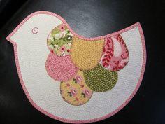 birdie mug rug