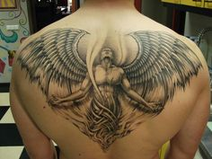 Shoulder wing tattoos that will blow your mind