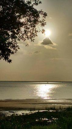 Por do sol em Icoaraci PA/Brasil