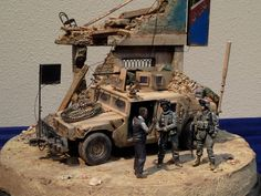 Armorama :: Us Special Forces and pickup diorama