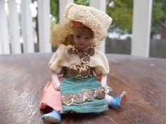 French Lilliputian SFBJ Darling Tiny Spanish Señorita c1890 - 1915 from theplayfulspirit on Ruby Lane