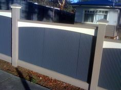 This is my fave mini orb colorbond fence!