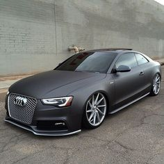 ◆ Visit ~ MACHINE Shop Café ◆ ❤ Best of Audi @ MACHINE... ❤ (Matte Murdered Audi A4 Coupé)