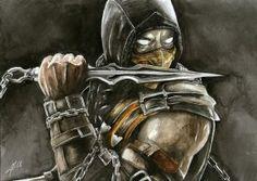Scorpion - Mortal Kombat by ThisBodomLake