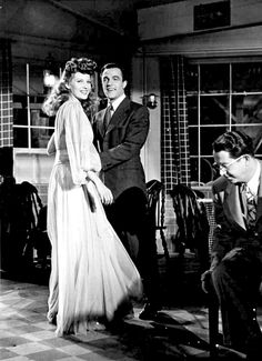 Rita Hayworth, Gene Kelly & Phil Silvers ~ Cover Girl, 1944