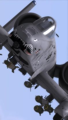 A-10C Thunderbolt II. So ugly, it's awesome... Seriously function over form is something to be admired sometimes.