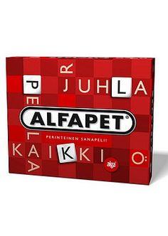 Scrabble, Alfapet tai joku muu vastaava sanapeli