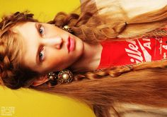 LA LA Girlz by Alice Rosati for Fashion Gone Rogue... braids.