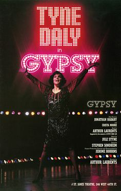 [ #Broadway #Marquee] GYPSY - Historic #TonyAward nominated/winning show opened #November 16 #1989 at The St. James #Theatre in #NYC (www.JaysBroadway.com) #AtThisTheatre #followme