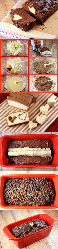 Chocolate- Valentine Surprise- Loaf Cake