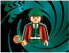 Playmobile by Richard Unglick - Sherlock Holmes