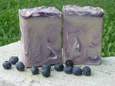 Blackberry home made soap