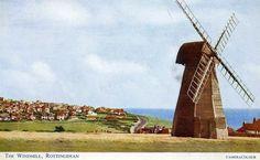 Windmill Rottingdean Sussex 1960 postcard | eBay