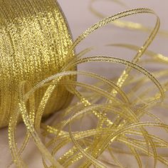 20Yards 3mm Gold Silk Satin Ribbon Party Home Wedding Decoration Gift Wrapping Christmas New Year DIY Material #Affiliate