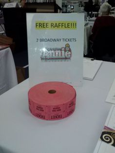 how to set up a raffle