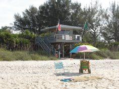 life guard stand at Nokomis Beach