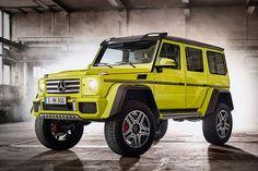 Mercedes G500 4×4² - Das ist der kleine Bruder des 6x6