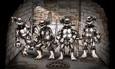 Eastman and Laird's Teenage Mutant Ninja Turtles by ~BenSmith128